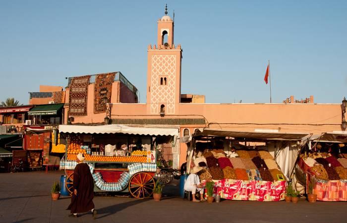 direkte fly til marokko