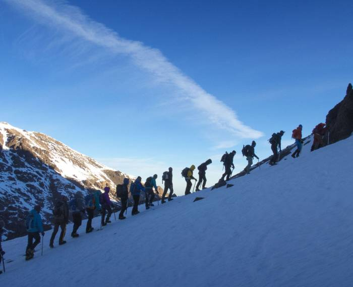 Trekking i Høje Atlas Toubkal Refuge