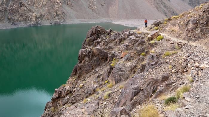 Lac d'Ifni søen og det central Atlas højland