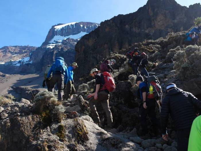 Kilimanjaro ruter