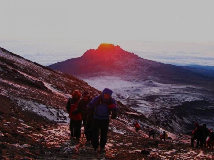 Kilimanjaro-nationalpark-Kilimanjaro kort