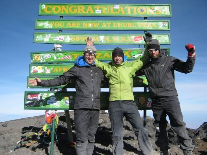 Toppen af Kilimanjaro