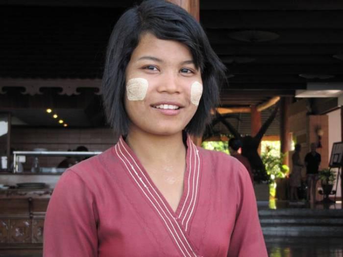 Burma kvinde