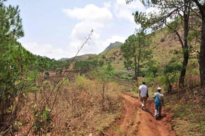 Kalaw trek Burma