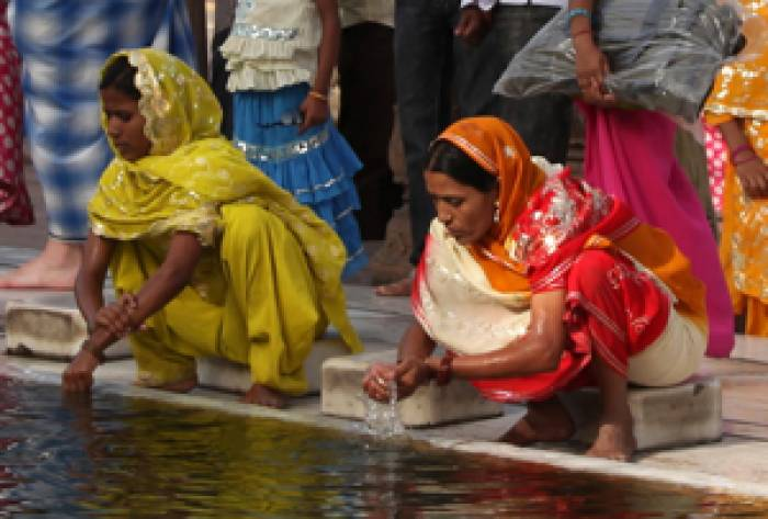 Kiplings-Indien-kvinder-vasker
