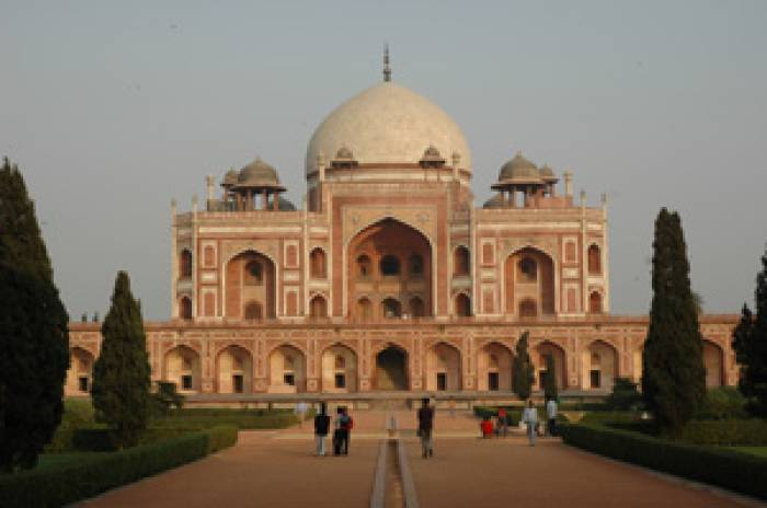 Kiplings-Indien-Humayun-Delhi