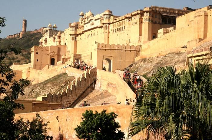 Jaipur og Amber Fort