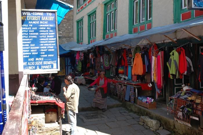 Namche Bazar ved Everest