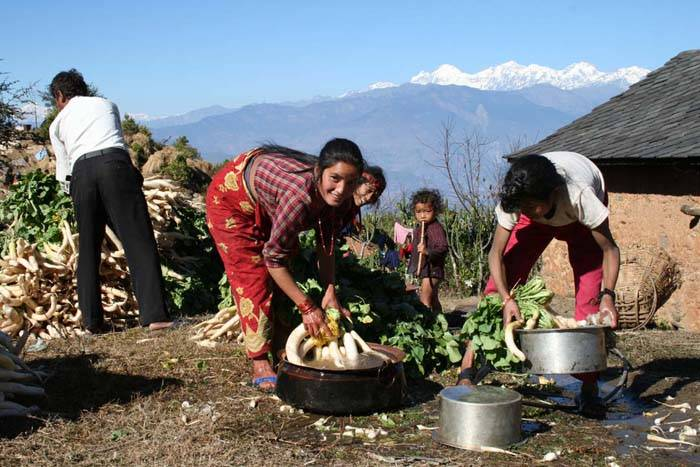 Nepal-trekking