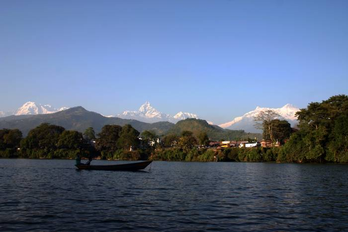 Kathmandu til Pokhara