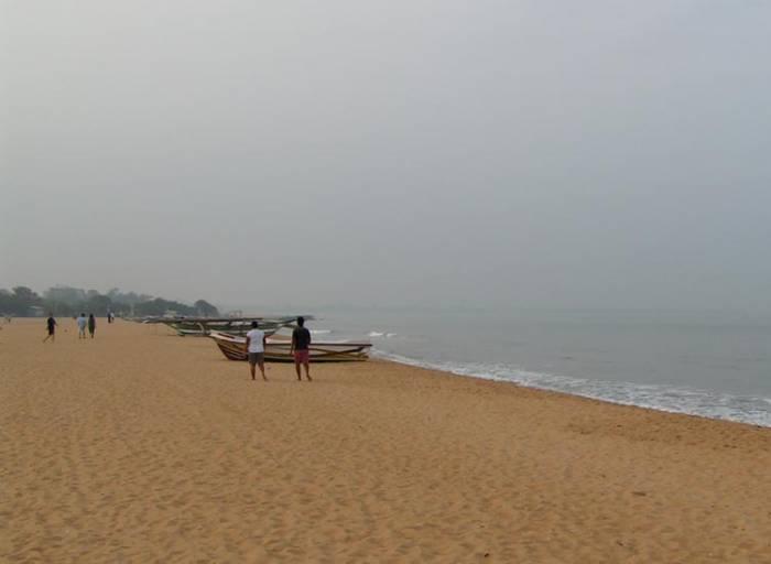 Negombo stranden