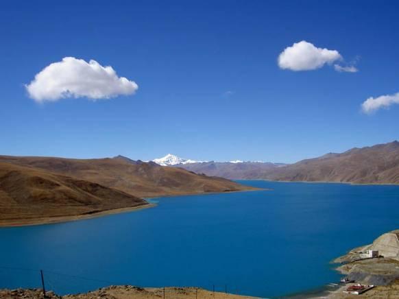 Yamdrok Tso i Tibet