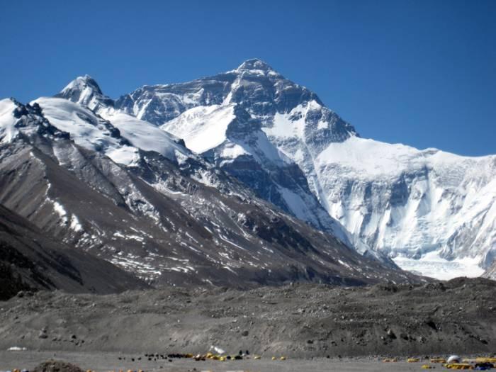 Tingri, Rongbuk, Tibetrejser