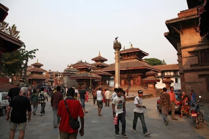 Kathmandu og kongebyen Bhaktapur