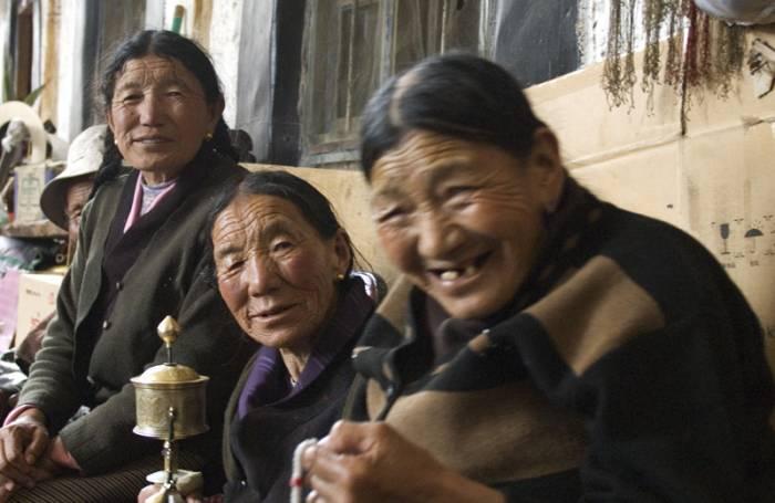 Mod det høje Himalaya og Shegar 4.300 meter