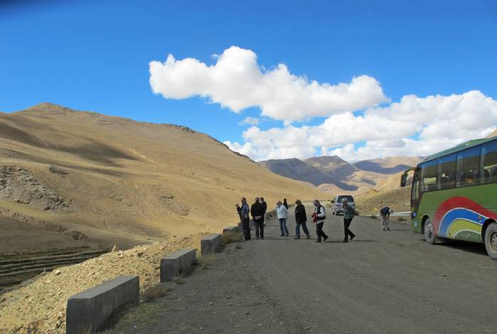 Tibetrejser Friendship Highway Kerung