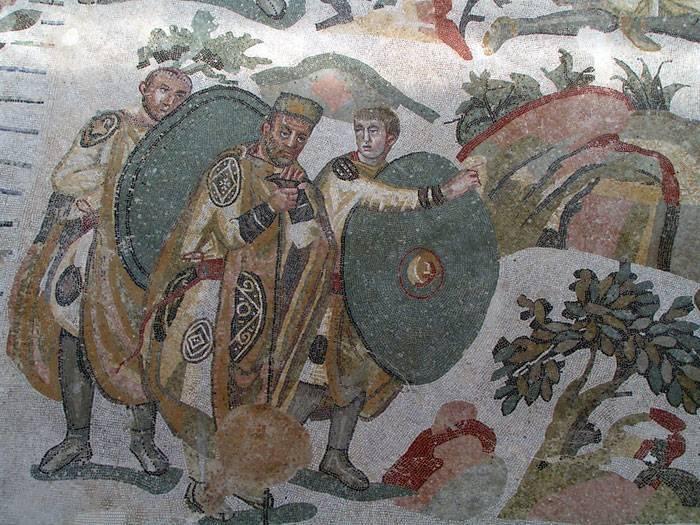 Sicilien-Scopello-Kejservilla-Fliser
