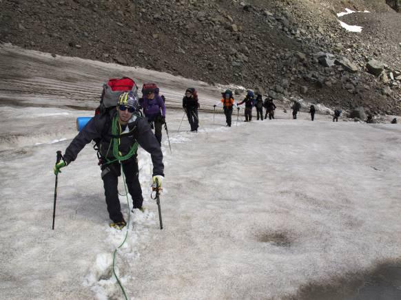 Bjergpas-Elbrus