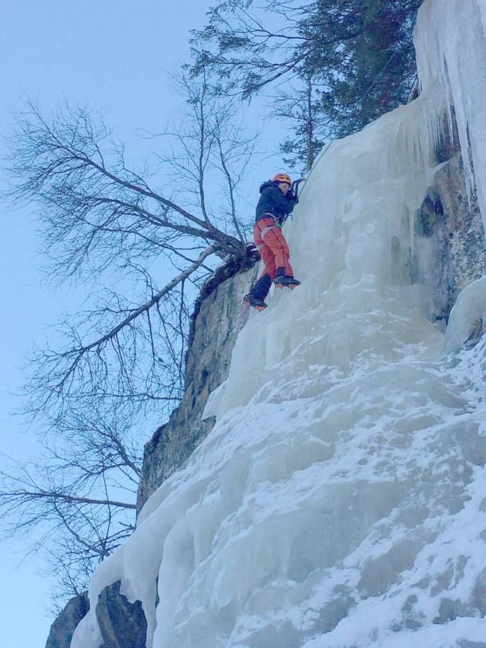 Isklatrekursus - øvelser og træning