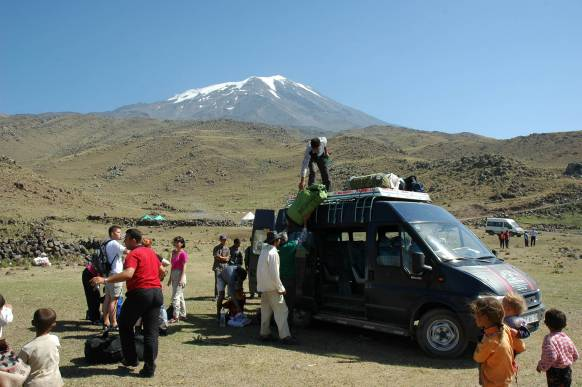 Ararat-bestigning