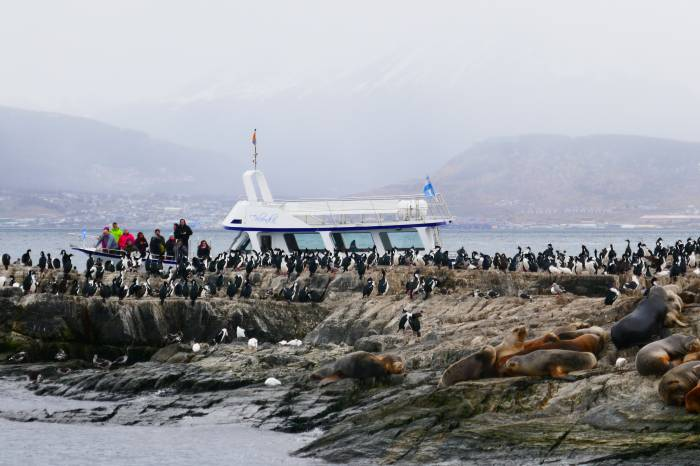 Ushuaia, verdens sydligste by med Verdens Ende & Beagle Channel Cruise