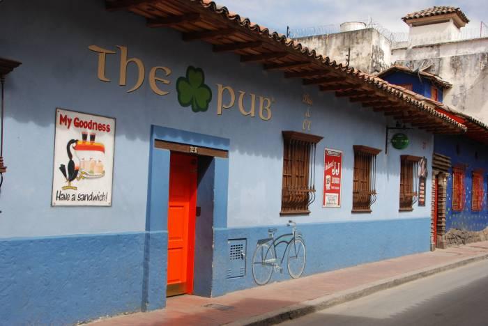 Gadebillede Bogota