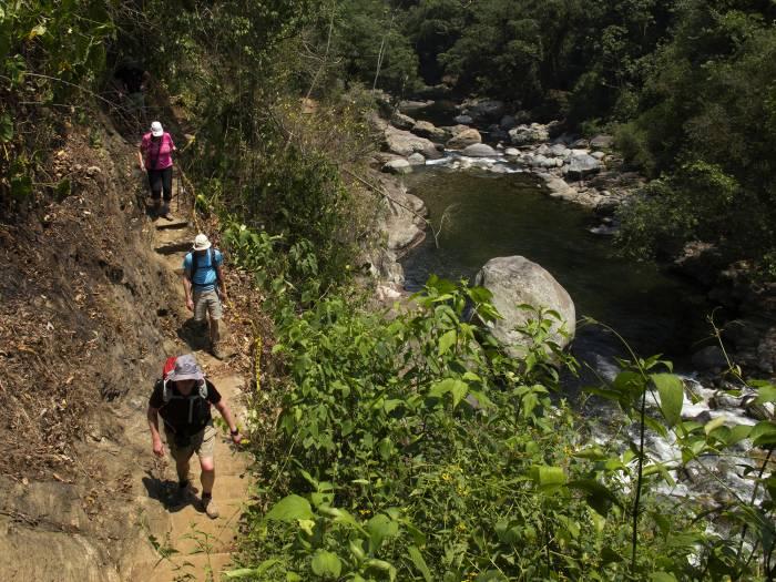 Dag 4 - udsigt over bjergområde