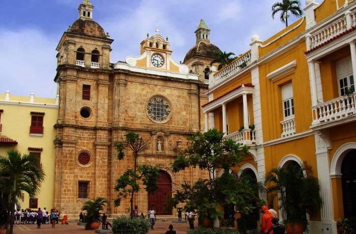 Cartagena gammel bydel