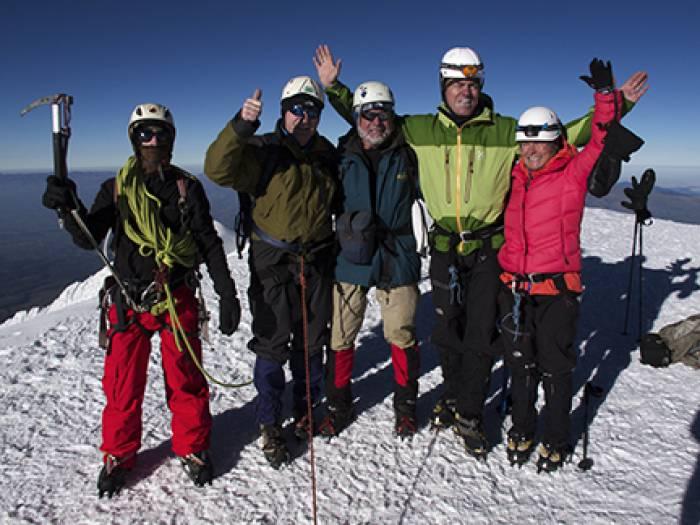 Bestigning af Chimborazo, Ecuadors højeste bjerg på 6.310 meter