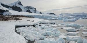 Antarktis er meget koldt