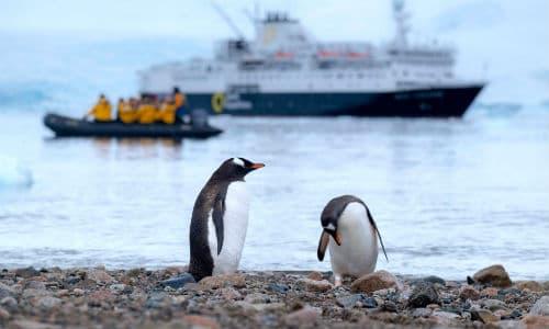 Der bruges mange forskellige tidszoner i Antarktis