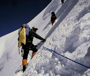 Bjergbestiger på Cho Oyo
