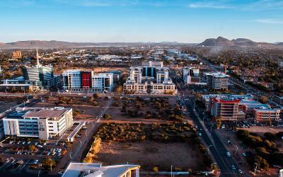 Rejs til Gaborone i Botswana