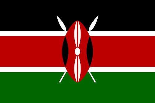 Kenyas flag