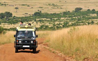 Rejs med Jeep gennem Spurwing i Kenya