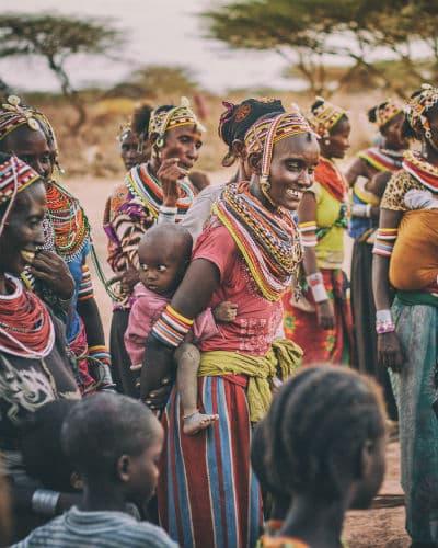 Bliv draget af stemningen blandt de lokale stammer, når du rejser til Kenya