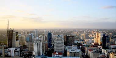 Nairobi Kenyas Hovedstad