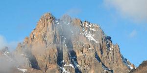 Klimaet i Kenyas bjerge er køligere