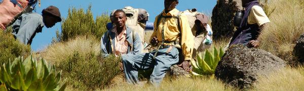 tag på trekking på din Kenya rejse