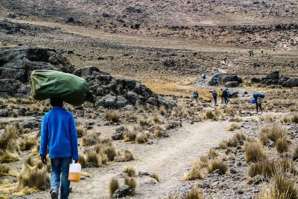 Bestig Kilimanjaro via Lemosho-Shira-ruten
