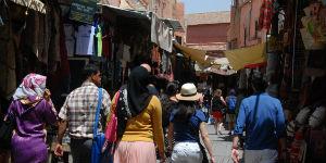 Gaderne i Marrakech emmer af liv