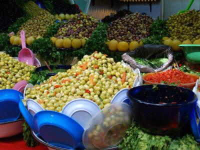 Oliven er almindeligt spise i Marokko