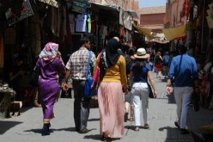 Stræde i Marrakesh