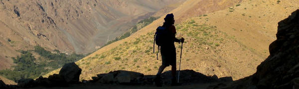 Der er gode muligheder for trekking i Atlasbjergene i Marokko