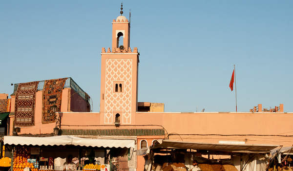Koutobia Moskeen er blandt de smukkeste i Marokko