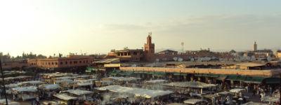 Der er mange smukke udsigter, når du rejser til Marokko