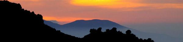 Toubkal med solnedgang