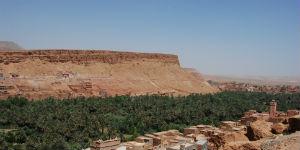 Udsigten i Marokko er ofte meget smuk
