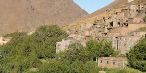 Der er en by i Atlasbjergene i Marokko