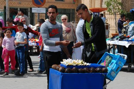 På din rejse til Marokko vil du møde mange flinke gadesælgere